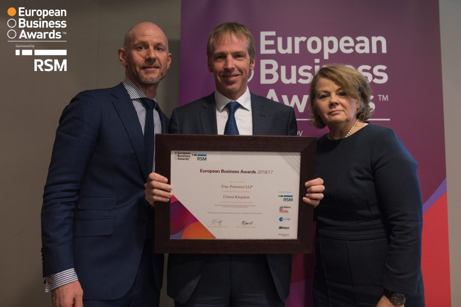 True Potential Reaches Final of the Europe's Largest Business Awards