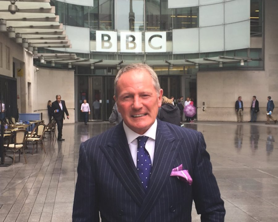 David Harrison Tells The BBC About His Secrets To Success