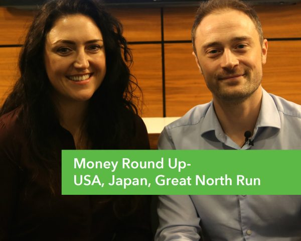 Money Round Up – Great North Run, Japan, USA