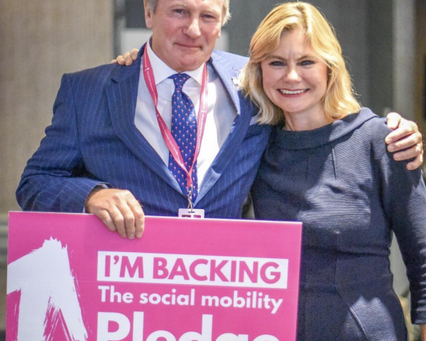Justine Greening MP explains Social Mobility