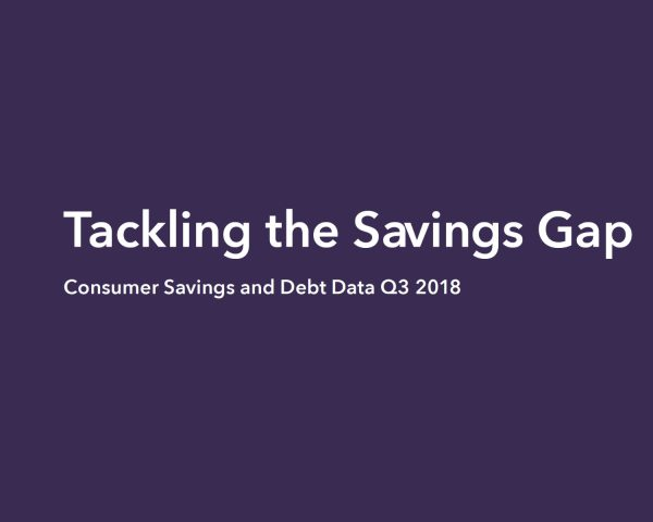 Worsening savings gap crisis revealed