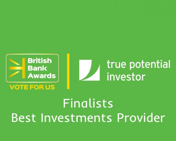 True Potential Investor nominated in Best Investments category at the British Bank Awards