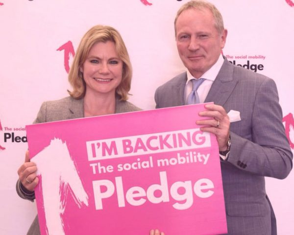Celebrating the one year anniversary of the Social Mobility Pledge
