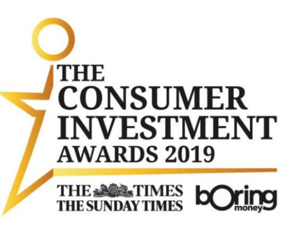 Vote for True Potential Investor as 'Best Customer Service' at The Consumer Investment Awards 2019