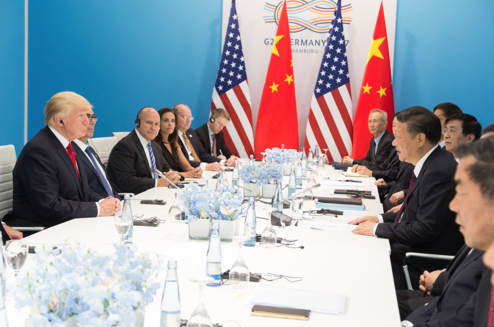 China's Red Star v America's Blue Dot