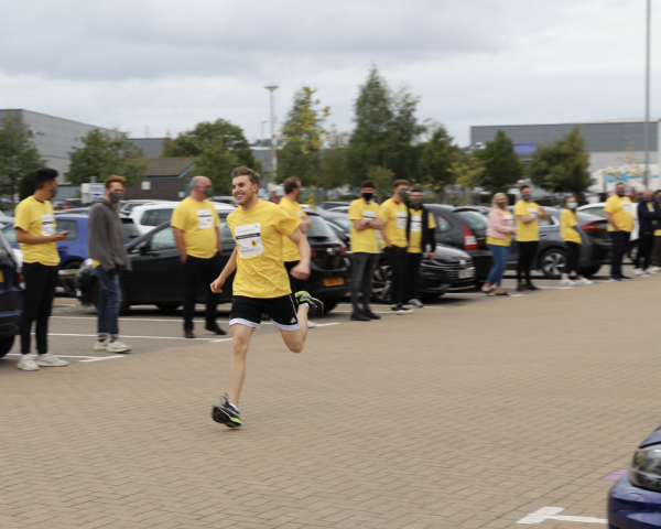 True Potential Hosts Great North 'Car Park' Run for Chronicle Sunshine Fund