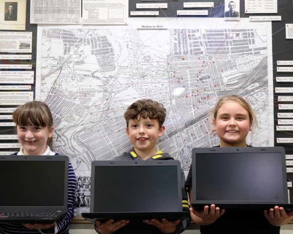 True Potential Donate Laptops to Local School